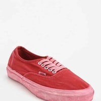 Vans California Collection Authentic  Women's Low-Top Sneaker- Red 10
