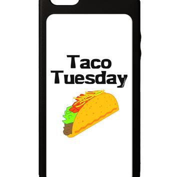 Taco Tuesday Design iPhone 5C Grip Case  by TooLoud