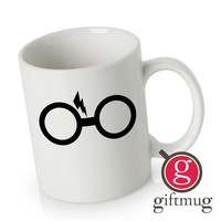 Harry Potter Glasses Ceramic Coffee Mugs