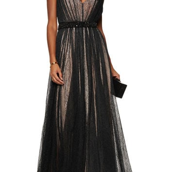 Sarina cutout metallic lace gown | Raoul | US | THE OUTNET