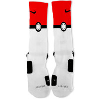Poke Ball Custom Nike Elite Socks