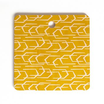 Heather Dutton Going Places Sunkissed Cutting Board Square