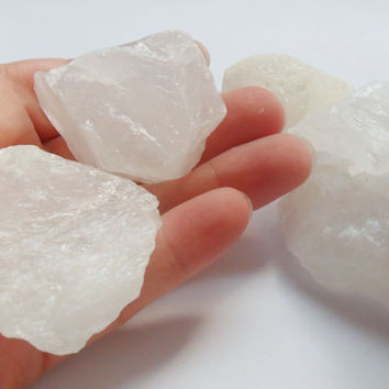 Snow Quartz, Rough Quartz, Raw Quartz, Milky Quartz Crystal, extra large size, chakra stone, healing crystals, Crystal Quartz