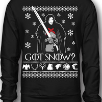 EXCLUSIVE Got Snow Ugly Christmas Sweatshirt