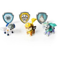 Paw Patrol Action Pack Pups Figure Set, 3pk, Everest/Robodog/Rubble - Walmart.com