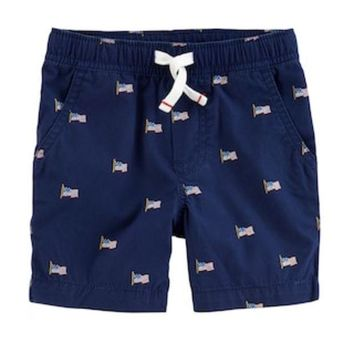 DCCKX8J Toddler Boys Carter's Flag Shorts | null