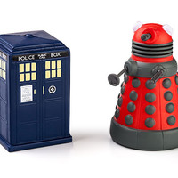 Doctor Who TARDIS and Dalek Stress Toys - TARDIS
