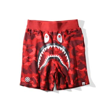 Men's Fashion Print Camouflage Shorts [429894729764]
