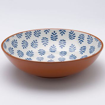 Bobby Flay Lagos 10-in. Salad Bowl (Blue)