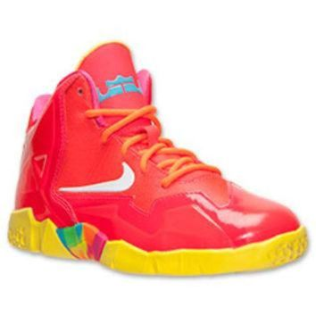 ONETOW Boys' Preschool Nike LeBron XI Basketball Shoes