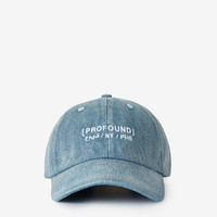 Sun-Washed Denim Weekend Cap