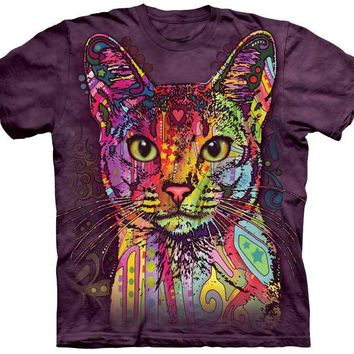 Colorful Abyssinian Cat - FREE Shipping!