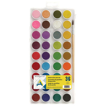 36 Color Watercolor Pan Set