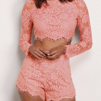 Jennette Lace Two Piece Outfit