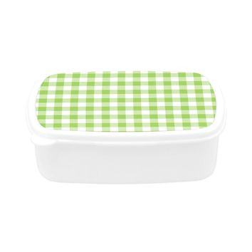 Children's Green Tablecloth Lunch Box