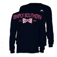 Long Sleeve Bow Tee