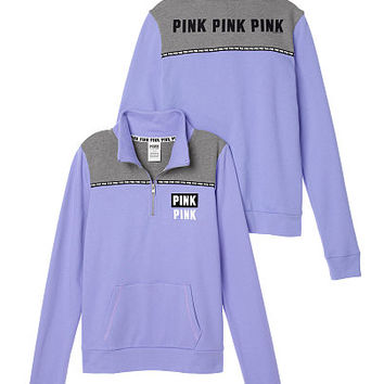 05e078f9 Perfect Quarter-Zip - PINK - Victoria's from VS PINK
