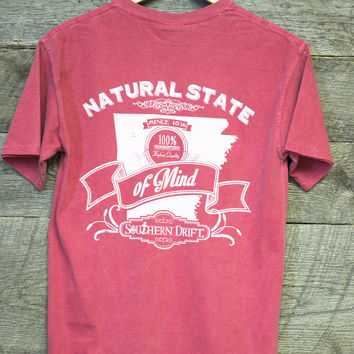 Southern Drift Arkansas Natural T- Shirt