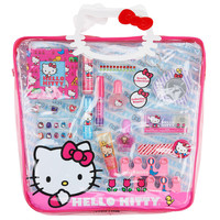 Hello Kitty Mega Tote Cosmetic Bag - Hello Kitty Faces