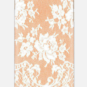 Cute iPhone 6 Case, Lace iPhone 5 case, Teal iPhone 6 Case, iPhone 5c case, lace cell case, cellcasebythatsnancy