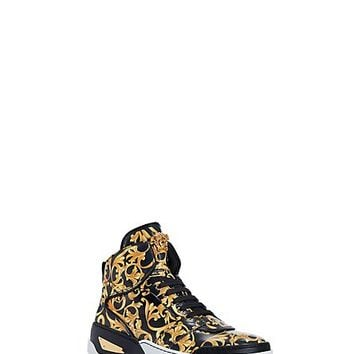 Versace - Men's Barocco Print High Top