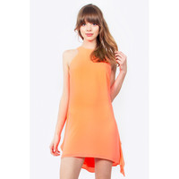 Neon Drapes Dress LAVELIQ.