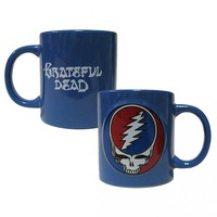 Grateful Dead Oversized Steal Your Face Blue Mug 20 oz. SYF Jerry Garcia