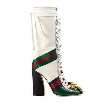 Gucci Finnlay leather high boot