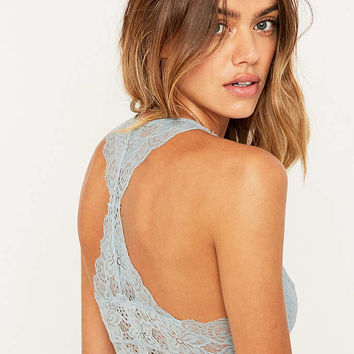 Kimchi Blue Pale Blue Racerback Bralette - Urban Outfitters