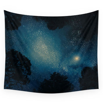 Society6 Stars & Trees Wall Tapestry