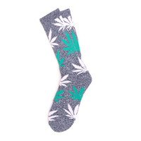 HUF - PLANTLIFE CREW SOCKS HOL13 // NAVY HEATHER