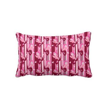 Cute Pink Mermaid pattern Pillows from Zazzle.com