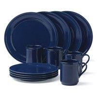 kate spade new york | All In Good Taste Navy 12-Piece Dinnerware Set