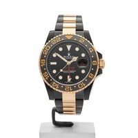ROLEX HERCULES CUSTOM GMT-MASTER II WATCH 116713LN 40MM COM1138