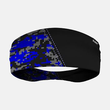 Arsenal Digi Camo Black Blue Gray Headband