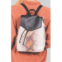 Snakeskin Kara Backpack