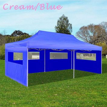 10' x 20' Pop Up Canopy Party Tent Outdoor Patio BBQ Gazebo Shelter