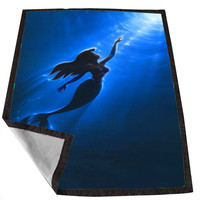 Walt Disney little mermaid 759079ac-8e17-47a3-a55b-ab9bf29acdcc for Kids Blanket, Fleece Blanket Cute and Awesome Blanket for your bedding, Blanket fleece *02*