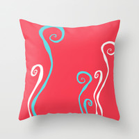 CORAL REEF 15 Throw Pillow by Monika Strigel
