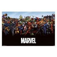 Marvel Universe Wall Poster