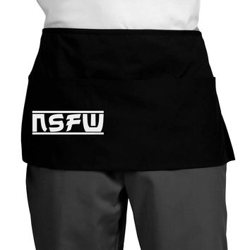 NSFW Not Safe For Work Dark Adult Mini Waist Apron by TooLoud