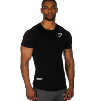 Hot Popular Round Necked Short Sleeve Sport T-Shirt _ 13035