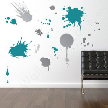 Ink Splatz Wall Decals