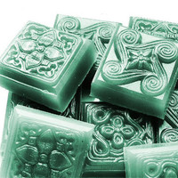 Celtic Knot Soap  - Decorative Soap Gift in Teal Green