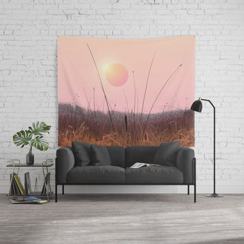Landscape & gradients XII Wall Tapestry by vivianagonzalez