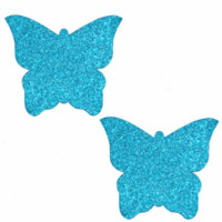Bowie Blue Butterfly Kisses Pasties