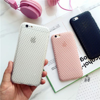 Simple fashion solid color mobile phone case for iphone 6 6s 6plus 6s plus + Nice gift box!