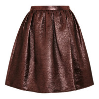 Hope Gathered-Waist Lurex Skirt by Opening Ceremony Now Available on Moda Operandi
