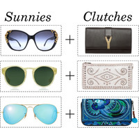 Sunnies and Clutches