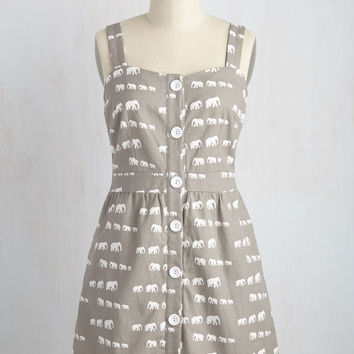 Pachyderms of Endearment Dress | Mod Retro Vintage Dresses | ModCloth.com
